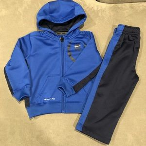 🎉 🦃 HP🎉Nike Therma fit full zip-up hoodie set